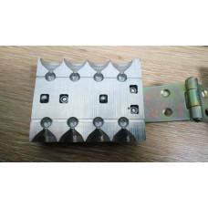 Комплект форм разборная микрочебурашка быстролейка
