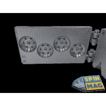 Таблетка для пробок с шипами и дыркой под заклепку посередине 80-120 гр